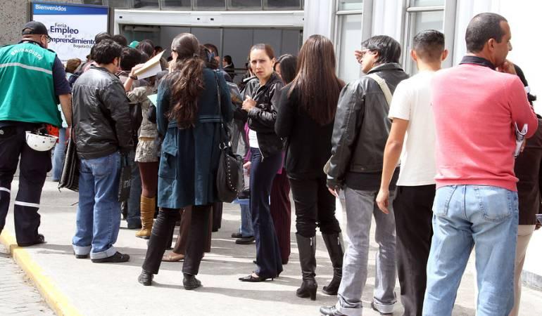 Sube 6,5% en el trimestre de noviembre a enero — Desempleo