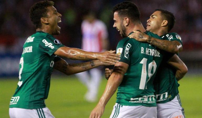 Junior Palmeiras: Paliza de Palmeiras a Junior en el inicio del Grupo 8 de la Libertadores