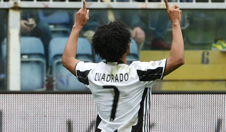Cuadrado Allegri Juventus: Cuadrado ha vuelto a trabajar y creo en poco se unirá al grupo: Allegri