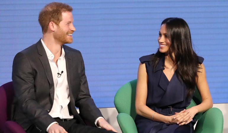 El Príncipe Enrique de Inglaterra y Meghan Markle