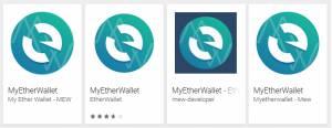 Las aplicaciones falsas de MyEtherWallet en Google Play