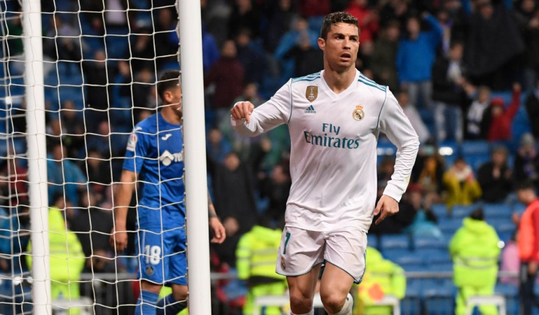 Real Madrid Getafe: Real Madrid venció 3-1 al Getafe con Cristiano Ronaldo como figura