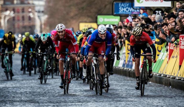 París-Niza Esteban Chaves: Esteban Chaves fue el mejor colombiano en la primera etapa de la París-Niza