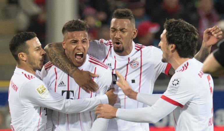 Bayern Múnich James: Sin James, Bayern golea 0-4 al Friburgo