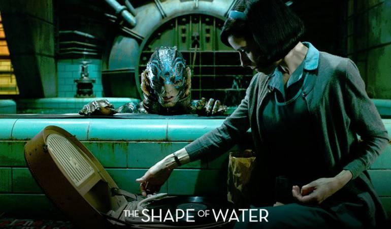 """""""La forma del agua"""" ganó cuatro estatuillas en los Óscar"""