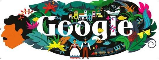 Natalicio García Márquez: Hace 91 años nació García Márquez y Google lo celebra con su Doodle