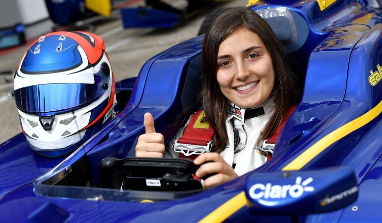 Tatiana Calderón Alfa Romeo Sauber: Tatiana Calderón será piloto de pruebas de Alfa Romeo Sauber