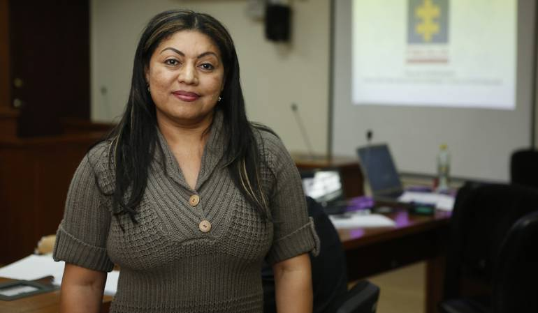Oneida Pinto, ex gobernadora de La Guajira