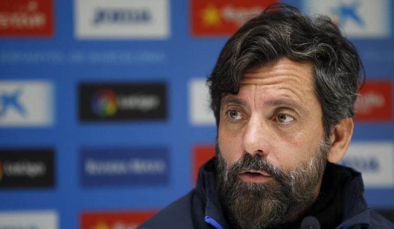 Carlos Sánchez Espanyol: Nos encantaría tener a Sánchez más tiempo en el Espanyol: Quique Sánchez
