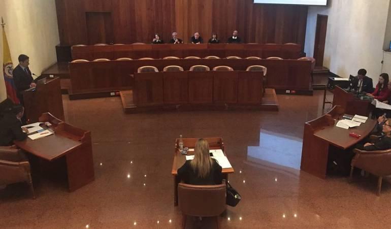 Consejo de estado contra Luz Adriana Moreno Marmolejo