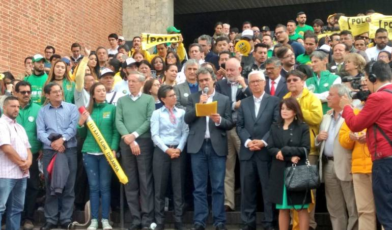 Candidato a la Presidencia Sergio Fajardo: Sergio Fajardo descartó alianzas para la primera vuelta presidencial