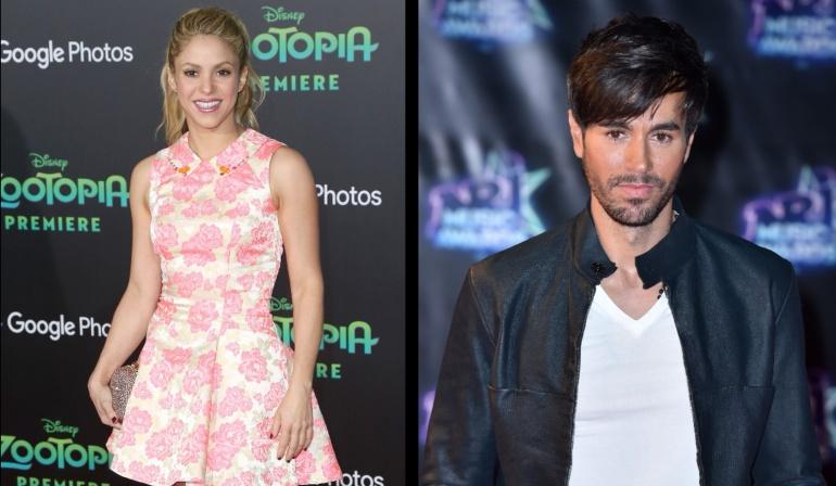 Con 20 años menos, Shakira y Enrique Iglesias causan revuelo en redes