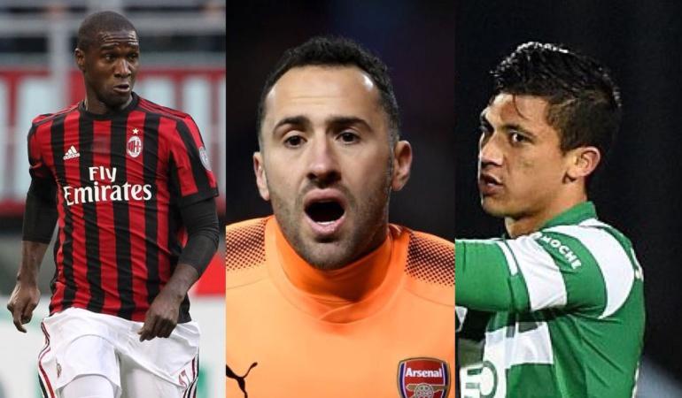 Europa League colombianos Ospina Montero Zapata: Partidos y resultados de los jugadores colombianos en la Liga de Europa