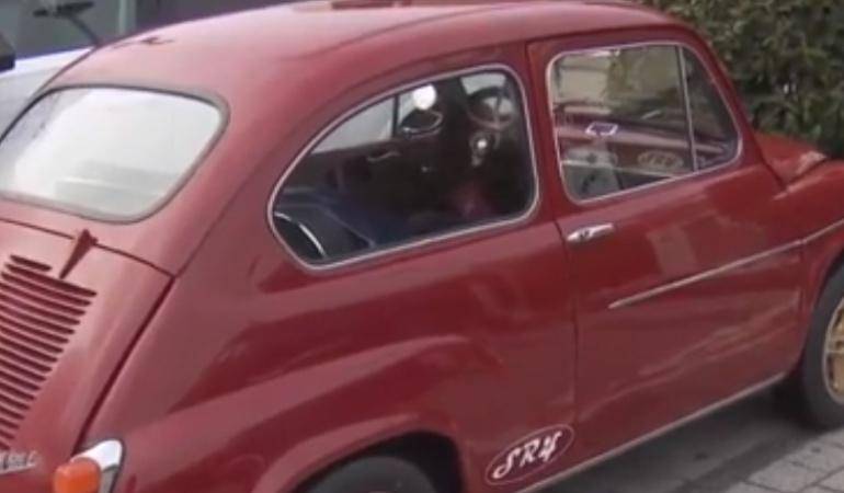 Sergio Ramos Madrid carro: El particular carro en el que Sergio Ramos llega a entrenar con el Madrid