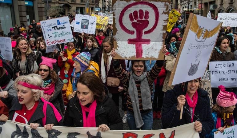 Marcha Masiva de Mujeres