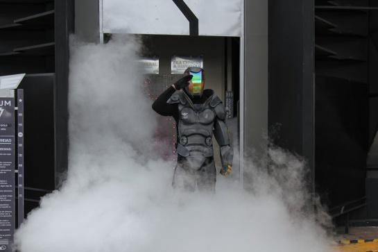 Primera montaña rusa con realidad virtual en Sudamérica: Primera montaña rusa con realidad virtual en Colombia