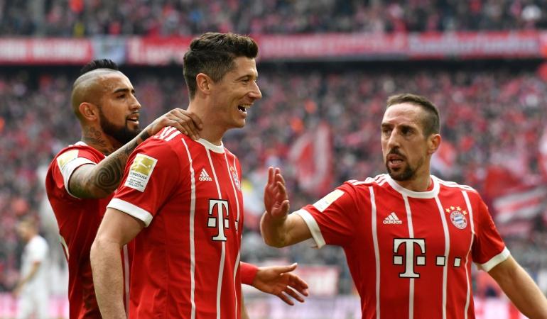 Bayern Múnich James rodriguez: Bayern Múnich sin James golea 6-0 al Hamburgo