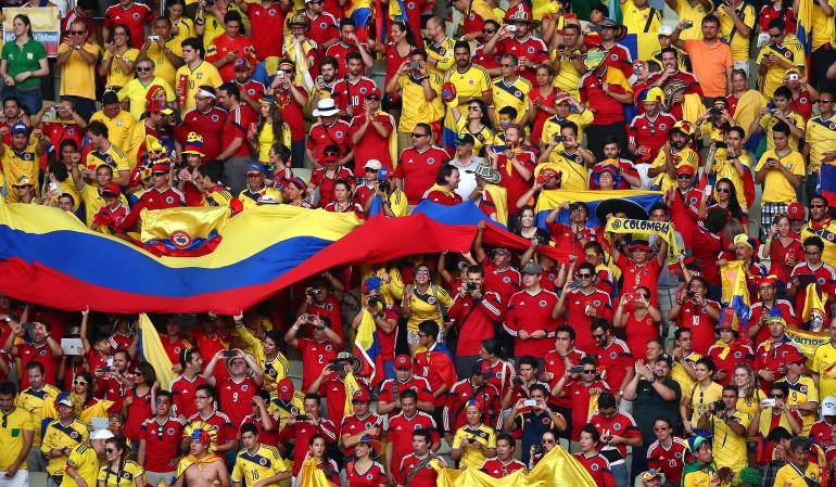 Mundial Rusia 2018 colombianos: Los colombianos son los que más pagarán por ir al Mundial de Rusia