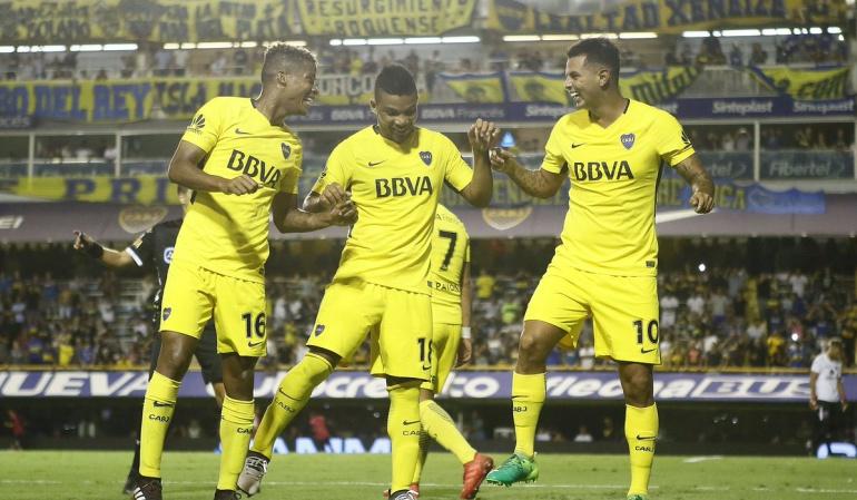 Cardona Boca Juniors: Edwin Cardona anotó un gol en la victoria de Boca Juniors 2-1 a Tigre