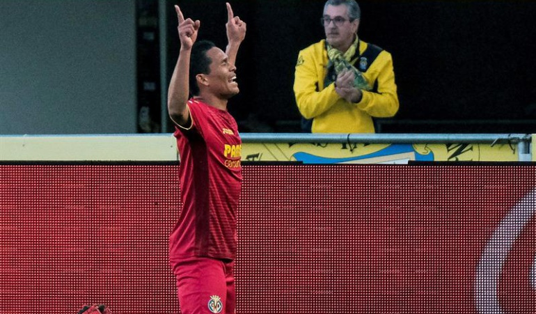 Las Palmas 0-2 Villarreal Carlos Bacca: Carlos Bacca anota en la victoria del Villarreal en campo de Las Palmas