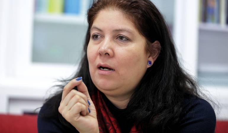 Alejandra Barrios, directora de la Misión de observación electoral