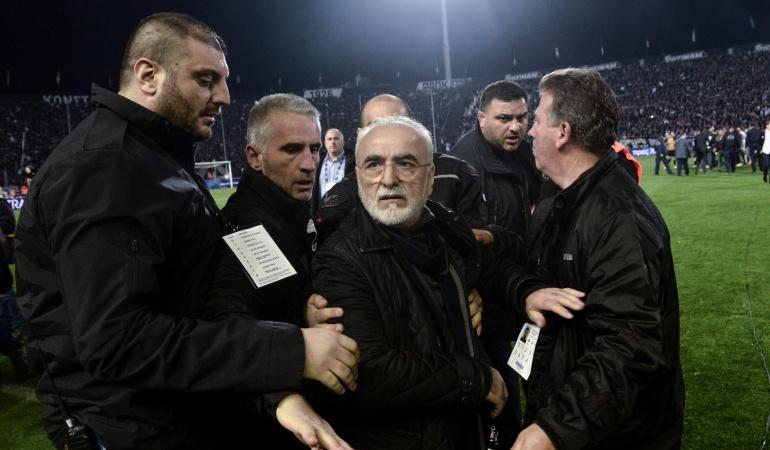 Ivan Savvidis, presidente del PAOK.