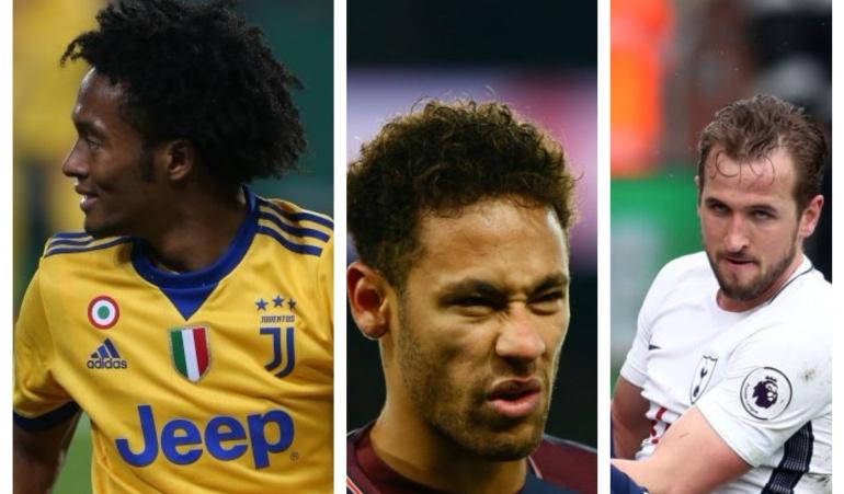 Lesionados Mundial Rusia 2018 Kane Neymar Cuadrado Neuer: Jugadores que por lesión peligran su participación en el Mundial