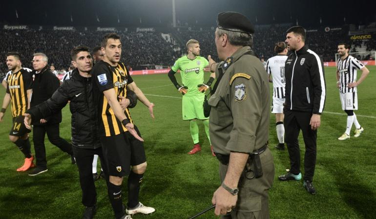 grecia: La Liga de fútbol griega es suspendida por tiempo indefinido