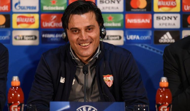 Vincenzo Montella Sevilla Manchester United Liga de Campeones: Sevilla tiene su identidad, su historia y su espíritu: Vincenzo Montella