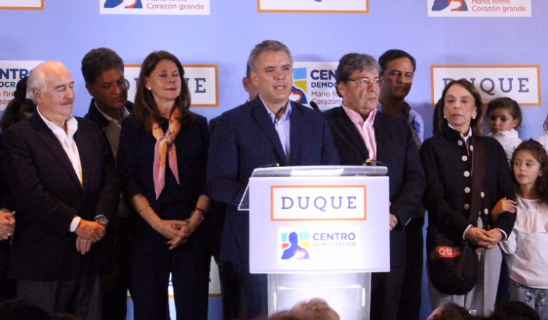 Elecciones 2018: El primer gran triunfo electoral de Iván Duque