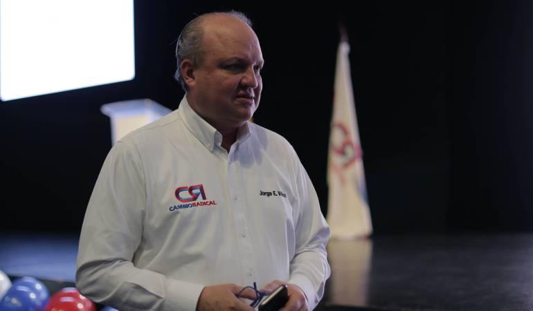 Jorge Enrique Vélez, Dir partido Cambio Radical