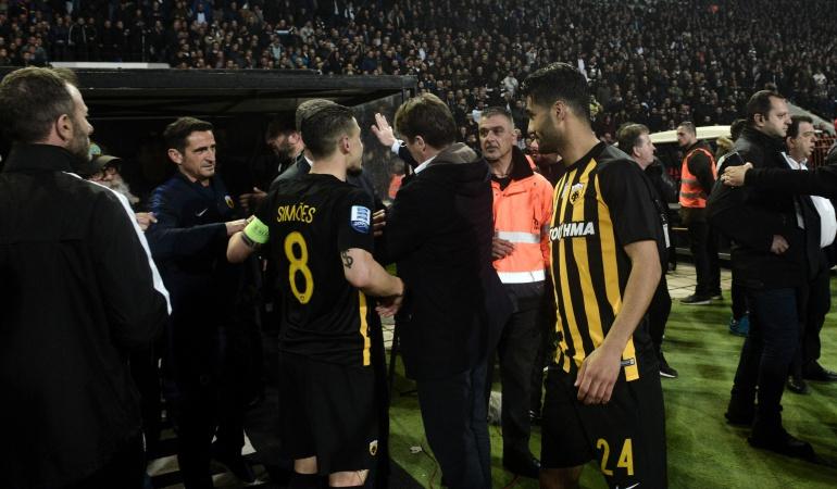 """liga griega PAOK: Pablo García, DT de la filial del PAOK: """"Hay corrupción en la liga griega"""""""