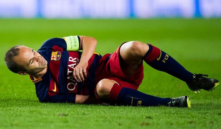 Iniesta Barcelona Chelsea Champions: Iniesta se recupera y podrá jugar con Barcelona ante Chelsea