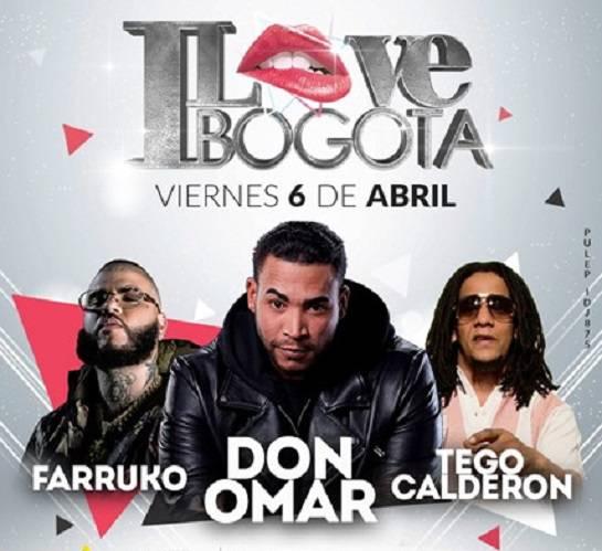 I Love Bogotá: Don Omar anunció la fecha de su último concierto en Colombia