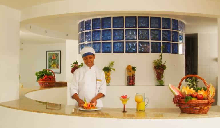 Imagen del hotel Oceanía en Cartagena.