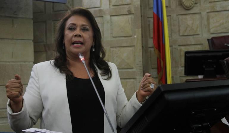 Gloria Stella Díaz.