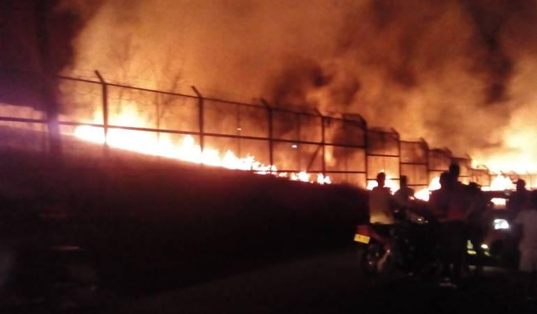 Superada emergencia por incendio en cárcel de Caquetá: Autoridades controlan incendio en cárcel del Cunduy en Florencia Caqueta