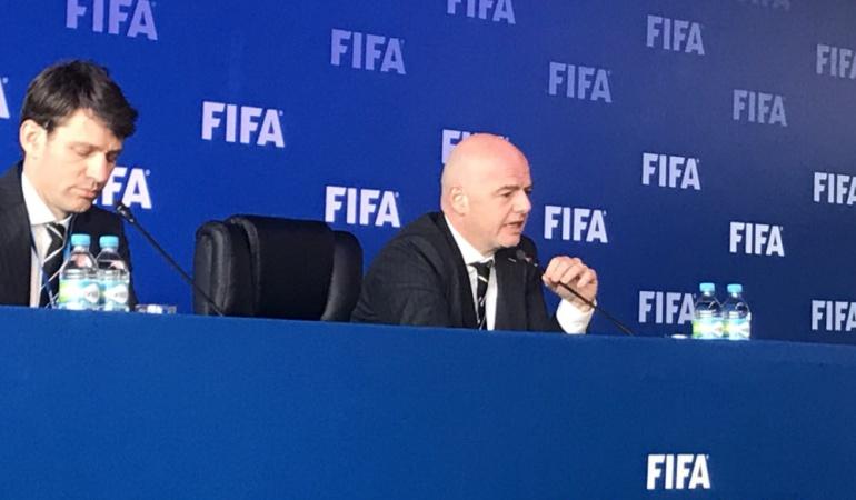 Mundial 2018 Consejo FIFA Bogotá: El Mundial 2018 será el primero con VAR: Gianni Infantino