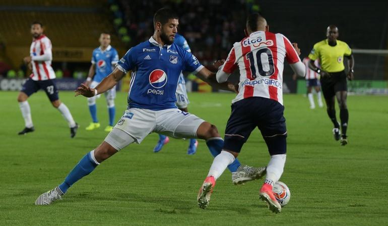 Junior Millonarios Liga Águila: Millonarios visita al Junior urgido de volver a sumar en Barranquilla