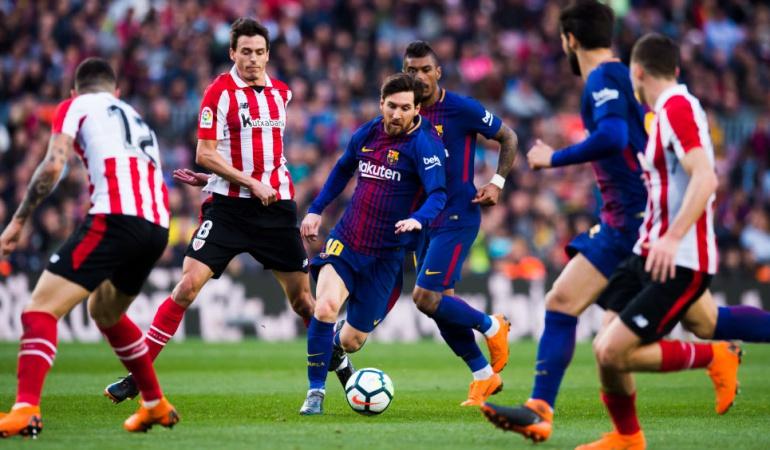 Barcelona Athletic de Bilbao: Con Mina como suplente, Barcelona venció 2-0 al Athletic de Bilbao