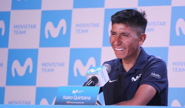Nairo fue protagonista de la tercera etapa en Cataluña