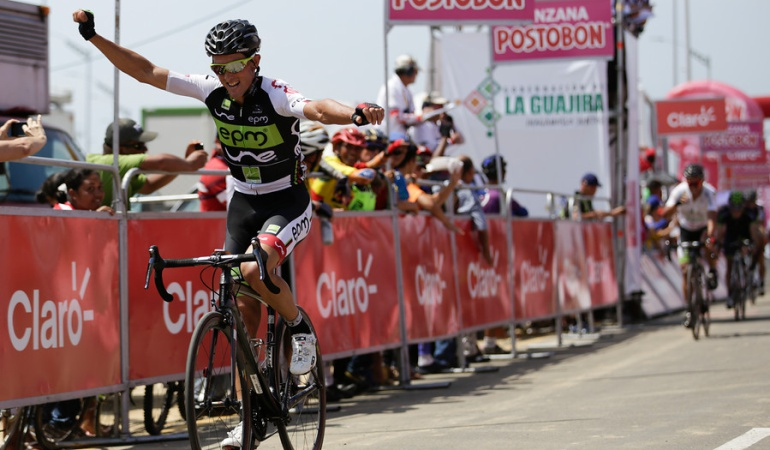 Óscar Sevilla, ciclista del colombo-español.