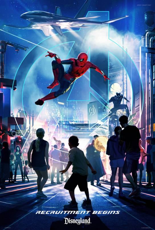 Avengers: Marvel amplía su universo hasta los parques de Disney
