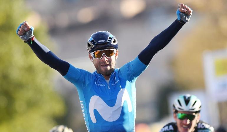 Valverde Vuelta a Cataluña Quintana Bernal: Valverde ganó la cuarta etapa de la Vuelta a Cataluña; Bernal fue segundo