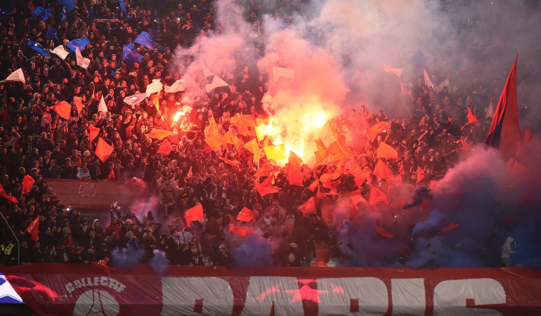 PSG REAL MADRID: UEFA cierra parcialmente el estadio del PSG y lo multa