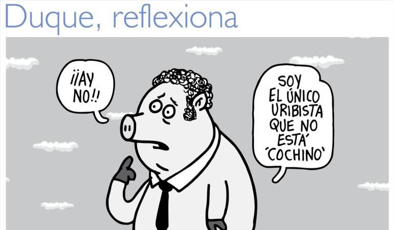 Ivan Duque: Niegan la tutela que un ciudadano interpuso contra el caricaturista Matador