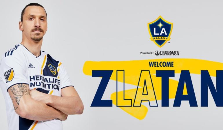 Ibrahimovic LA Galaxy Manchester United: Ibrahimovic es nuevo jugador de Los Ángeles Galaxy