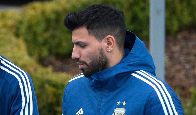 Agüero Argentina Italia España: Agüero es desafectado de Argentina y no jugará ante Italia y España
