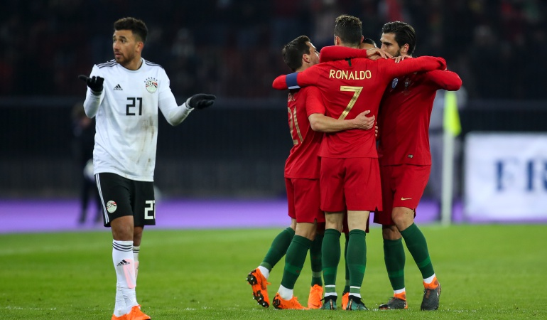 Portugal Egipto: En 3 minutos Cristiano le da el triunfo a Portugal sobre Egipto