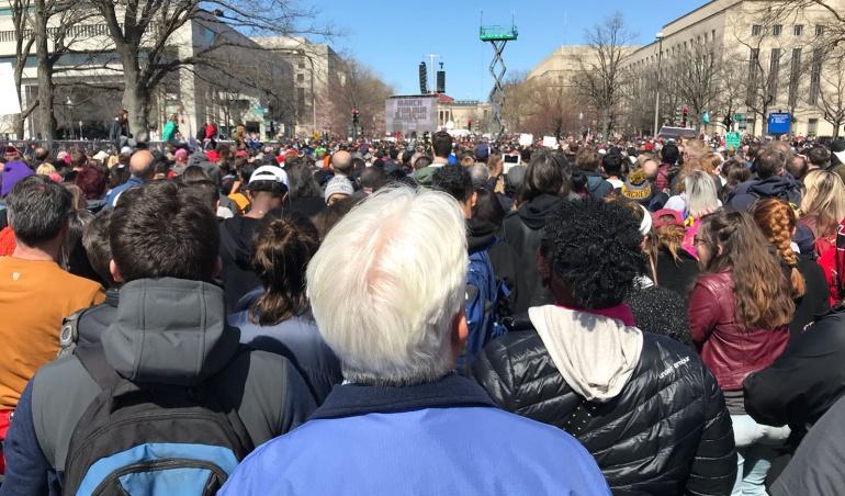 Marchas #MarchForOurLives armas: Millones de personas claman por control de armas en EE.UU.